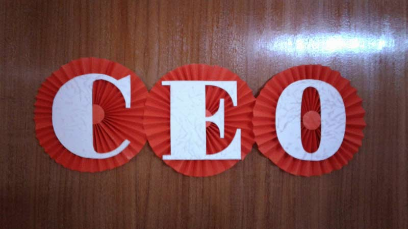 CEO's-Entrance